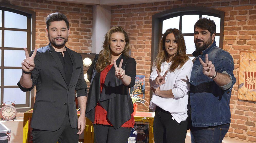 Foto: El equipo de asesores de 'La Voz 5'.