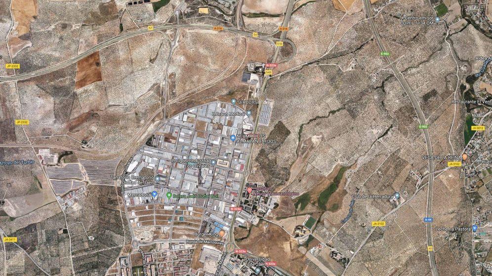 Foto: Terrenos donde se habría ubicado la residencia