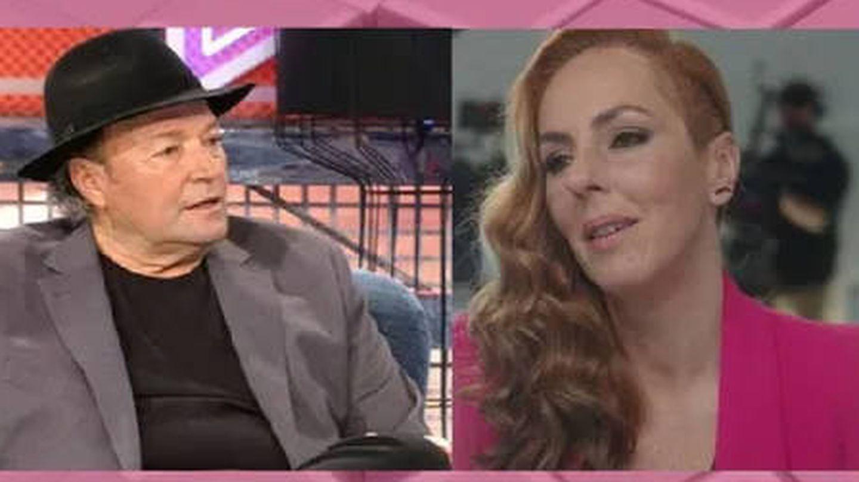 Amador Mohedano y Rocío Carrasco. (Telecinco)