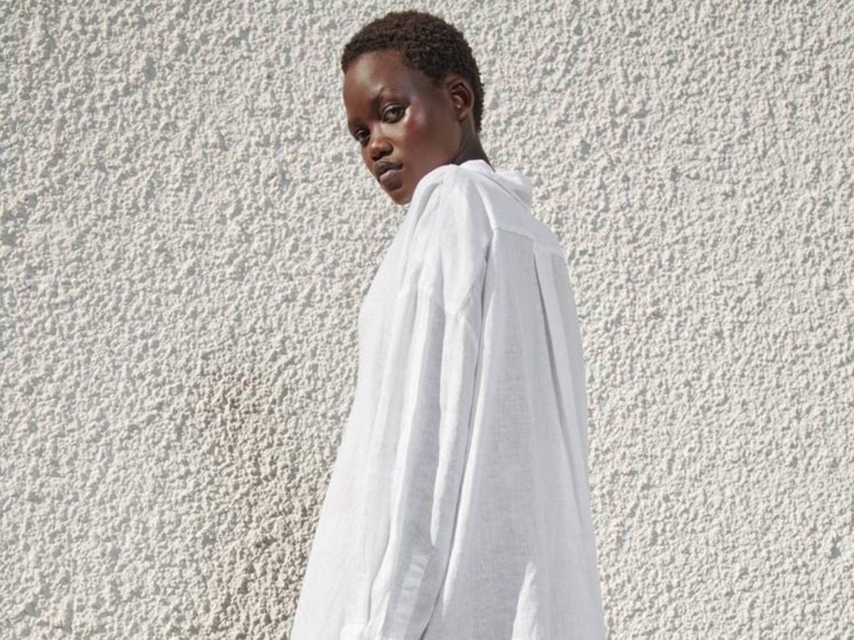 Foto: Vestido camisero de Zara. (Cortesía)