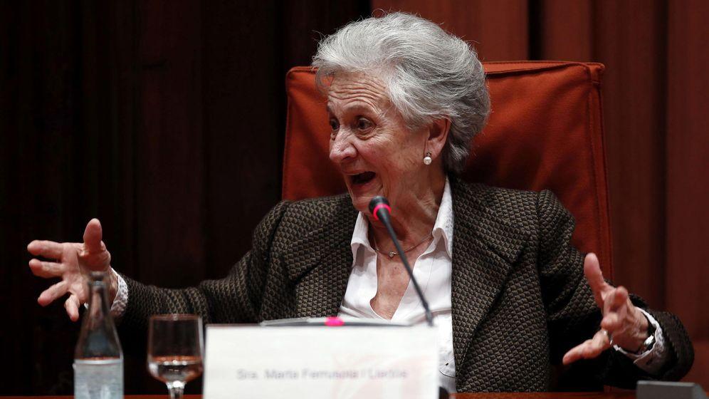 Foto: Marta Ferrusola, esposa del expresidente de la Generalitat Jordi Pujol. (EFE)