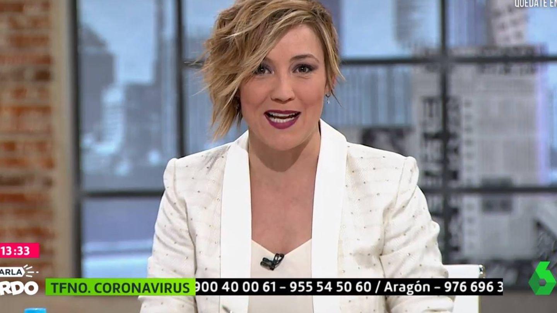 Cristina Pardo, en 'La Sexta'. (Atresmedia).