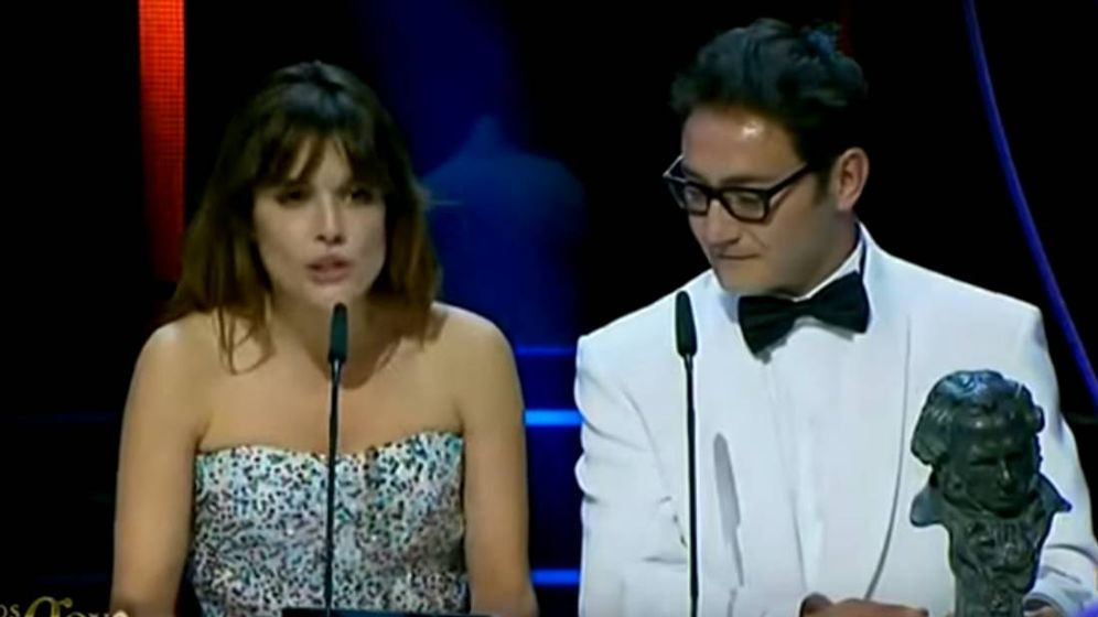 Foto: Adriana Ugarte atribuyó por error el Goya a la mejor canción original a un tema que no era