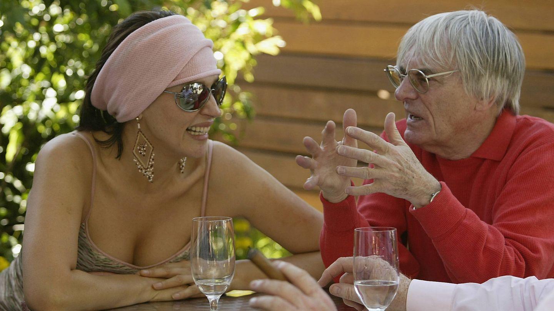 Slavica y Bernie Ecclestone. (Getty)