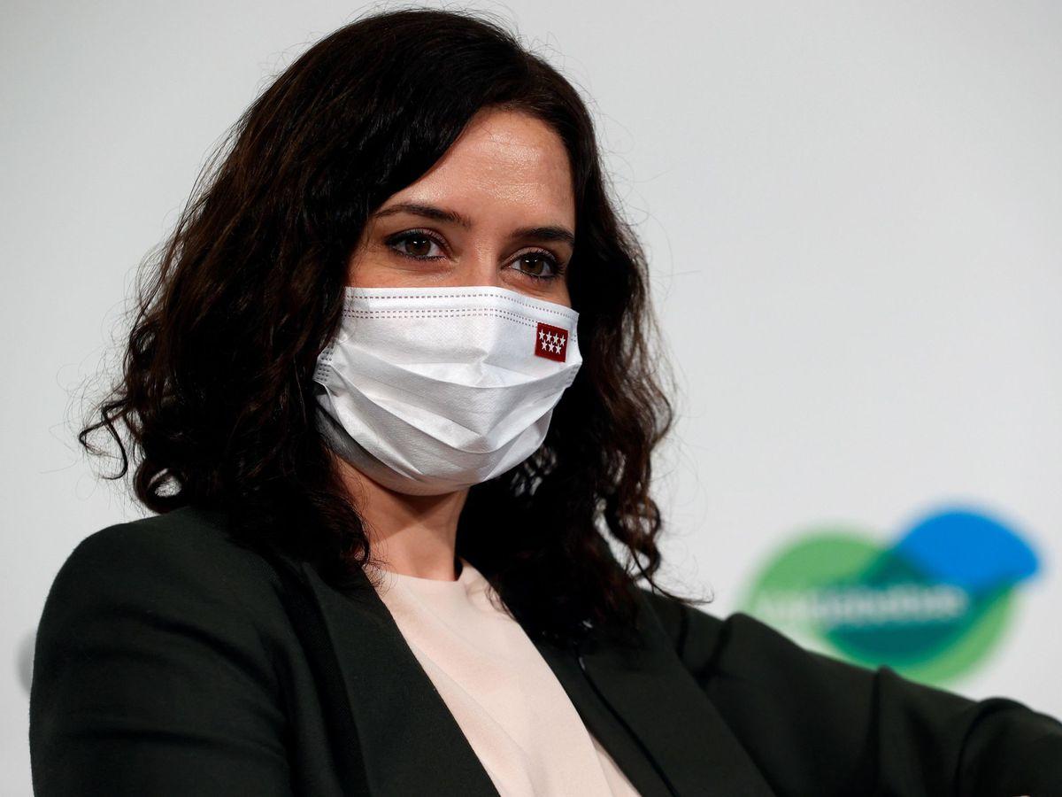 Foto: La presidenta de la Comunidad de Madrid y candidata a la reelección, Isabel Díaz Ayuso. (EFE)