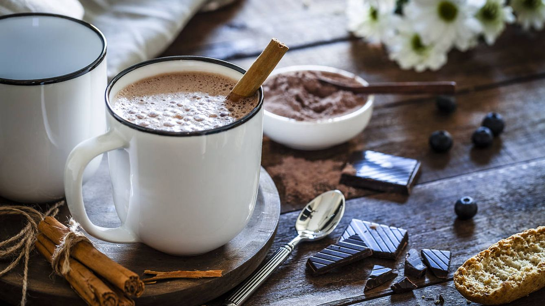 Beber una taza de chocolate caliente nos hace más listos