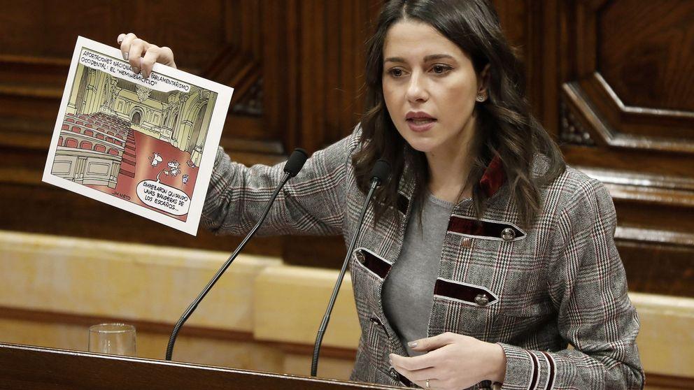 Ciudadanos se querellará contra Torra por amparar la violencia de los CDR