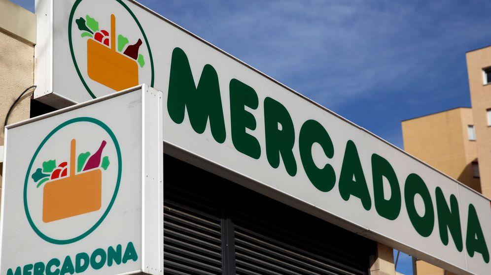 Foto: Logo de Mercadona, en uno de sus supermercados de Madrid (Reuters)
