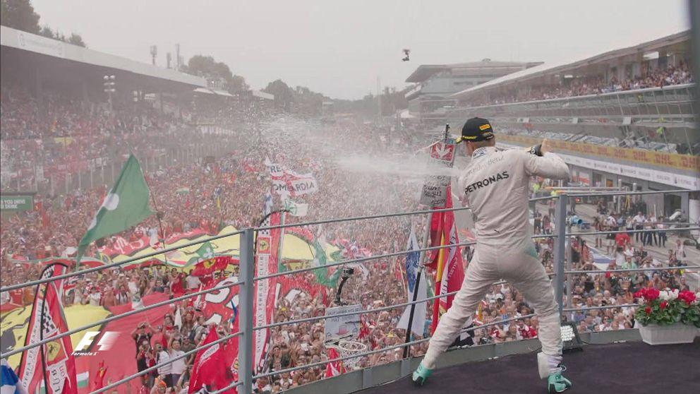 Las mejores imágenes del Gran Premio de Italia de Fórmula 1