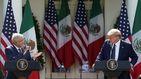 De bad hombres a gente fantástica: Trump alaba a los mexicanos ante López Obrador