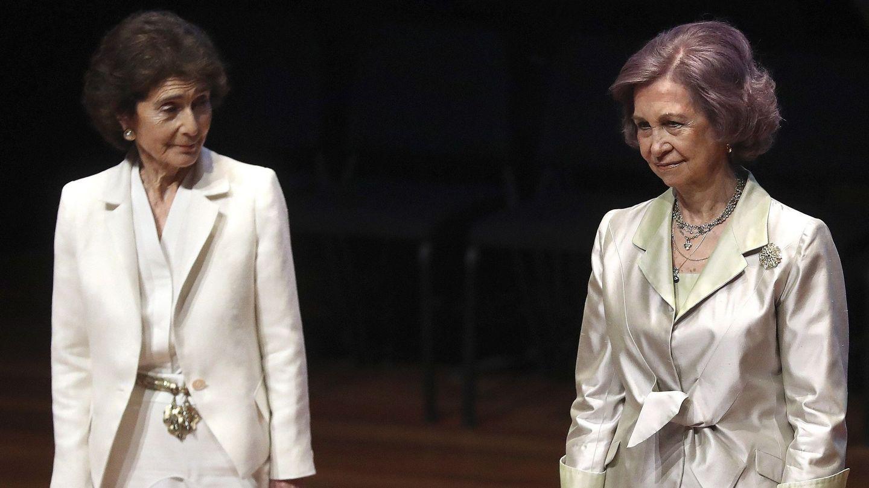 La reina Sofía y Paloma O'Shea. (EFE)
