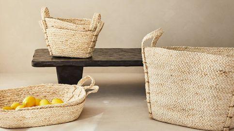 Déjate seducir por las nuevas cestas trenzadas de Zara Home