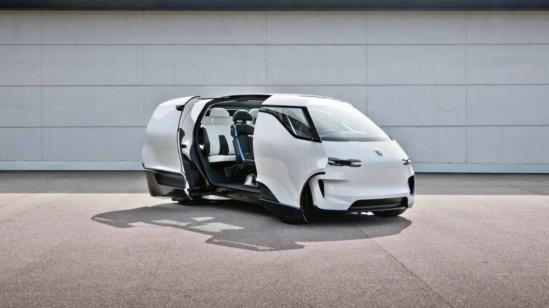 Foto: Esta es la furgoneta del futuro según los diseñadores de Porsche. (Porsche)