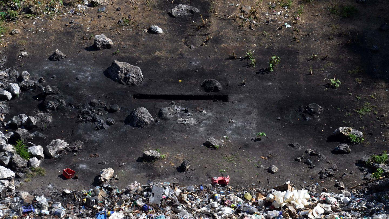 Paraje cerca de Cocula donde se cree que fueron quemados los cadáveres de los estudiantes. (AP)