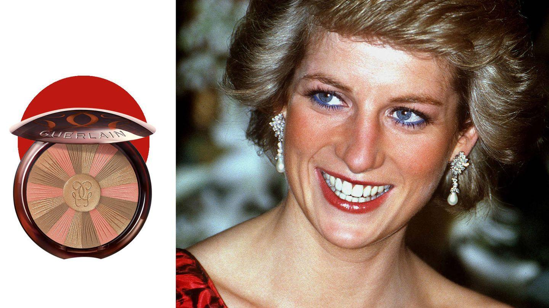 Las mejillas de la princesa destacaban por su intenso tono bronceado ligeramente anaranjado. (Getty)