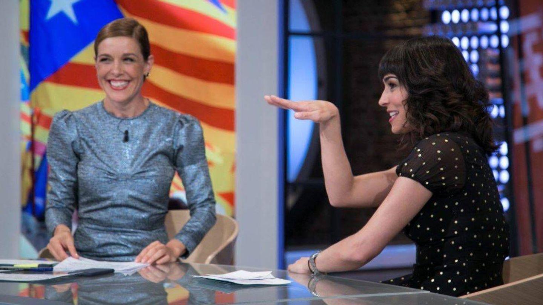 Marta Fernández se estrena con Raquel Sánchez Silva en 'Likes'.