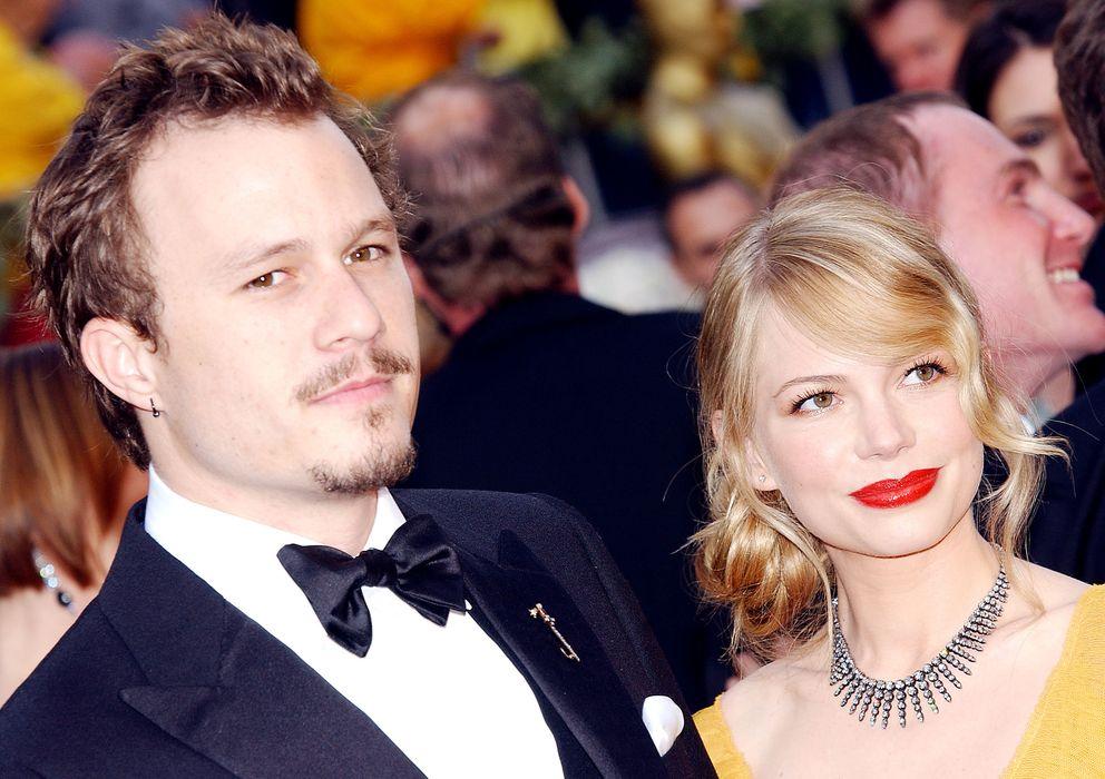 Foto: Michelle Williams y Heath Ledger en los Oscar 2005 (Gtres)