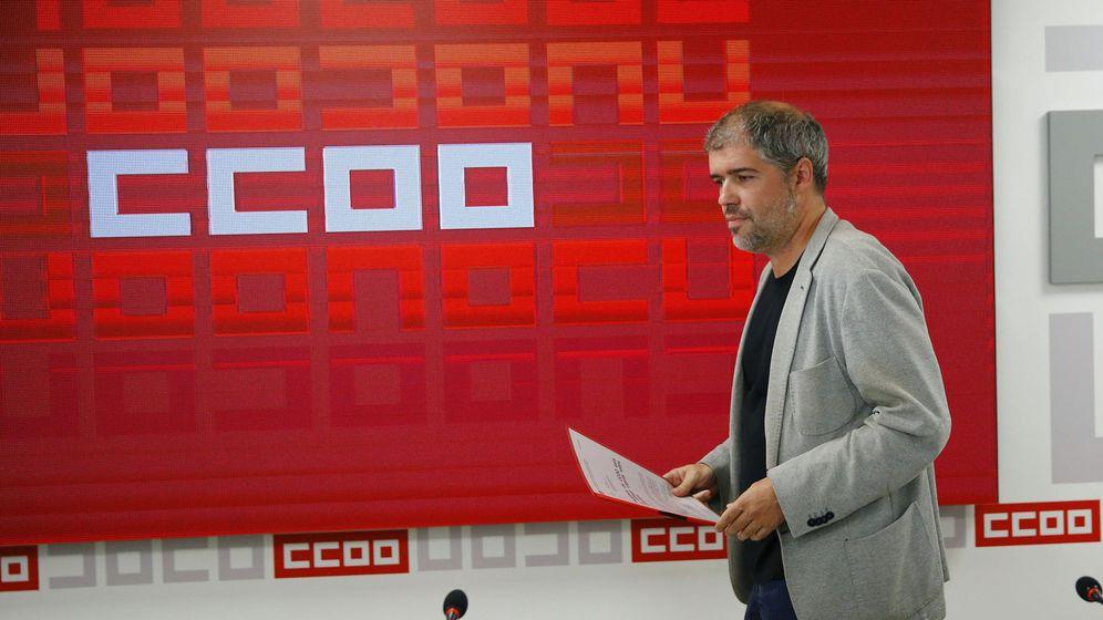 Foto: El secretario general de CCOO, Unai Sordo (Efe)