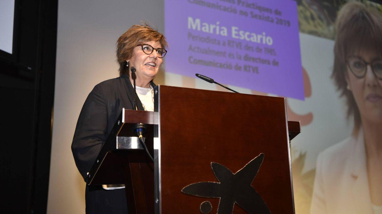 María Escario, premiada por las Buenas Prácticas en Comunicación no sexista