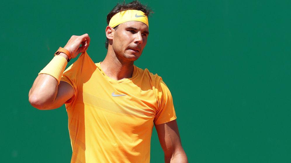 Foto: Rafa Nadal en Montecarlo de 2018. (EFE)