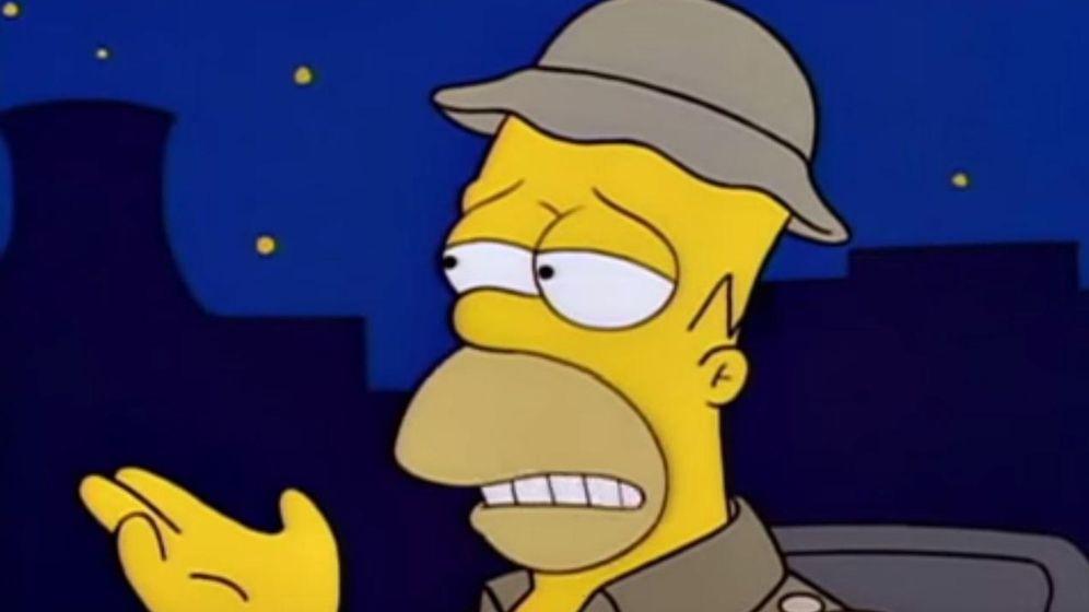 Foto: Las palabras de Rajoy sobre los catalanes, parodiadas en un vídeo de Homer Simpson