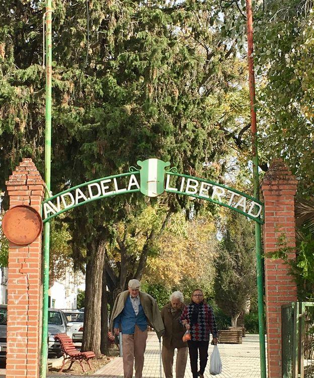 Foto: Avenida de la Libertad en Marinaleda, Sevilla. (J.C.)