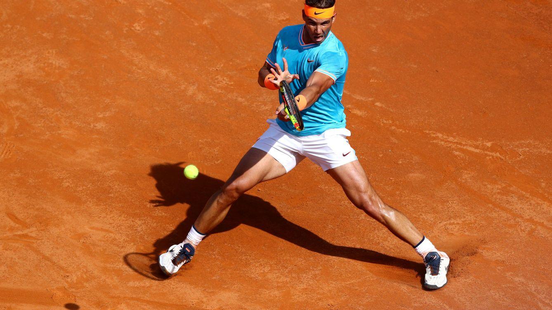 Foto: Rafa Nadal ha ganado ocho veces en el Foro Itálico. (Reuters)