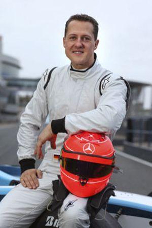 Schumacher destaca sus buenas sensaciones tras el primer día con Mercedes