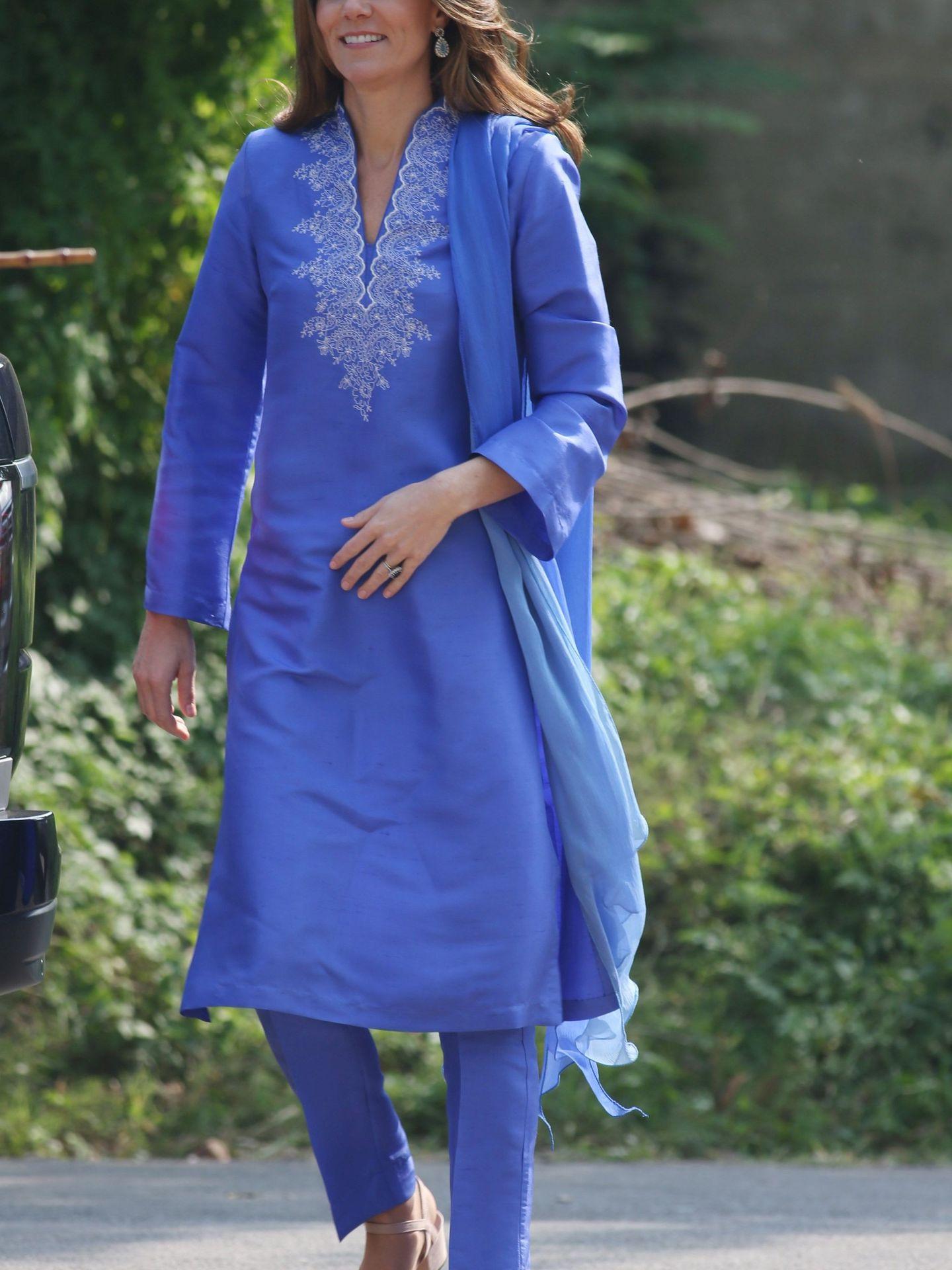 La duquesa de Cambridge, este martes en Islamabad. (Reuters)