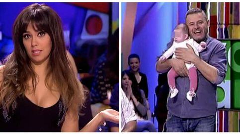 El bebé de Miki Nadal se cuela en 'Zapeando' de la mano de Pedroche