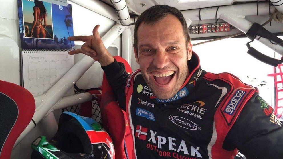 La silla de ruedas de la felicidad o por qué el piloto Albert Llovera siempre ríe