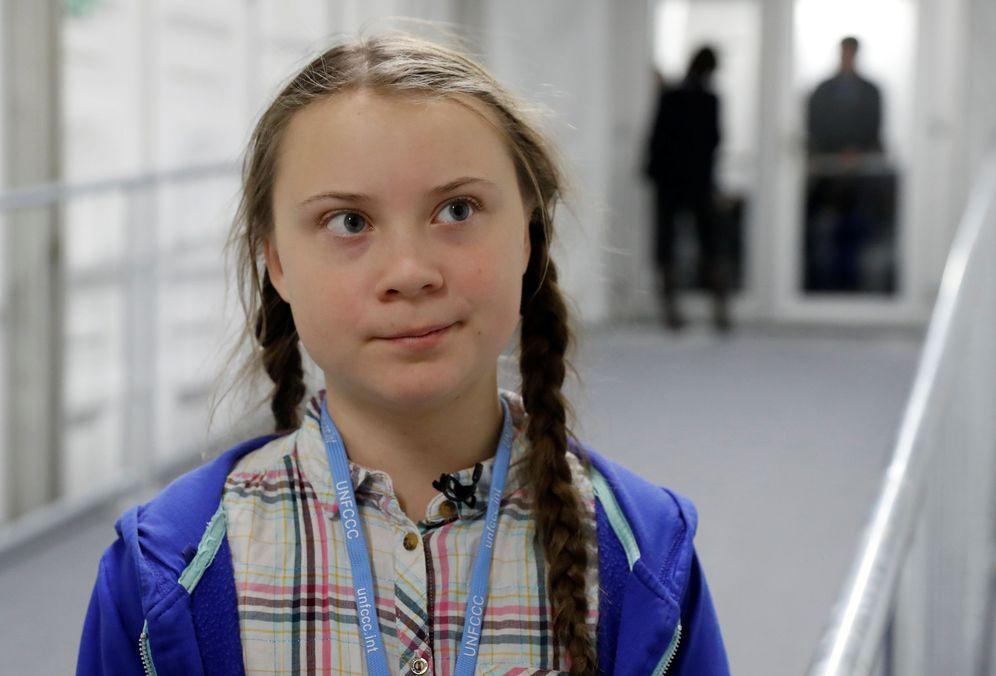 Foto: Gerda Thunberg en la cumbre del clima (Foto: Reuters)