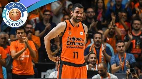 La emotiva despedida de Rafa Martínez del Valencia Basket