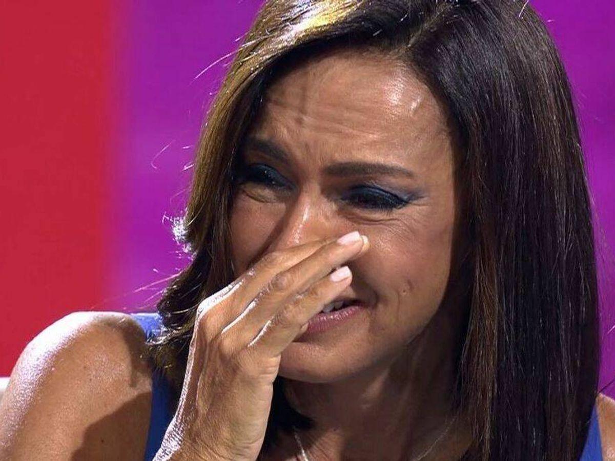 Foto: Olga Moreno, en 'Ahora, Olga'. (Telecinco)