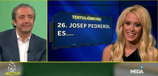 Post de Pedrerol y Laura Gadea, a la gresca: