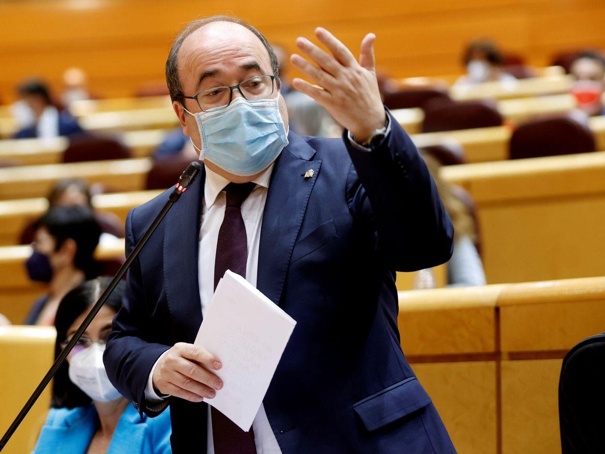 Foto: El ministro de Política Territorial y Función Pública, Miquel Iceta (EFE)