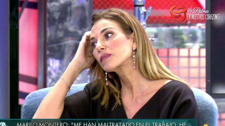 Mariló hablando de su época en RTVE. (Telecinco).