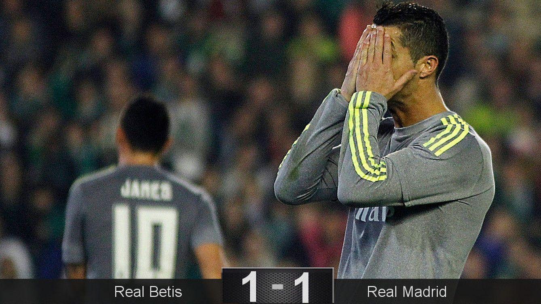 Adán se cuela en el paraíso de Zidane y el Betis desnuda las carencias del Real Madrid
