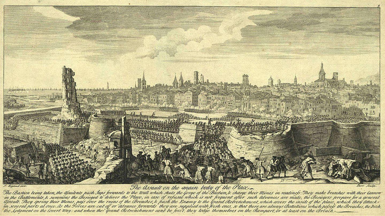 Asedio de Barcelona. Foto: Wikipedia