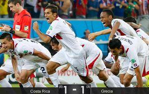 Costa Rica tira de épica y de Keylor para 'matar' a la incansable Grecia