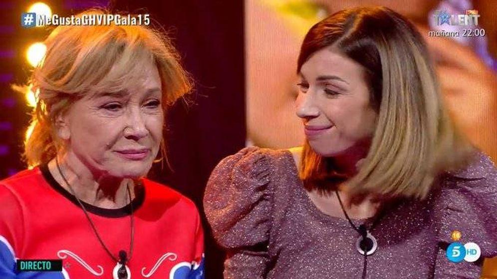 Foto: Mila Ximénez y Alba, en 'GH VIP 7'. (Telecinco)