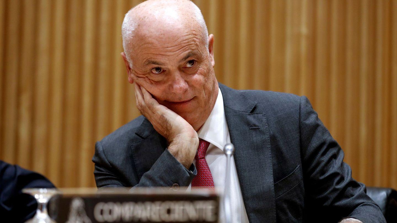 José Manuel Campa, comparece en la Comisión de investigación de la crisis.(EFE)