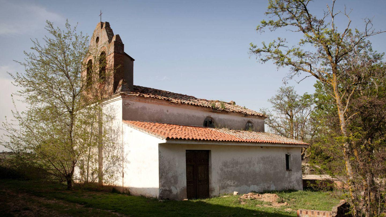 Ermita de la finca Dehesa de Valbueno que está en proceso de rehabilitación.
