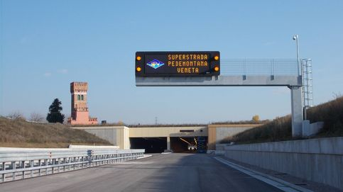 Sacyr será más italiana que española: dobla cartera con dos autopistas récord en 'la bota'