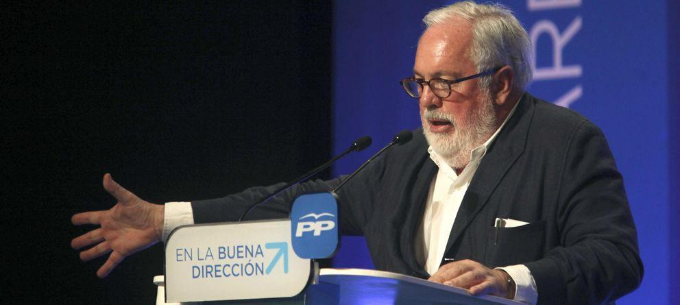 Foto:  El candidato por el PP a las elecciones europeas, Miguel Arias Cañete. (EFE)