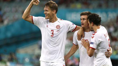 Dinamarca se gana el derecho a soñar: vence a República Checa (1-2) y está en semifinales
