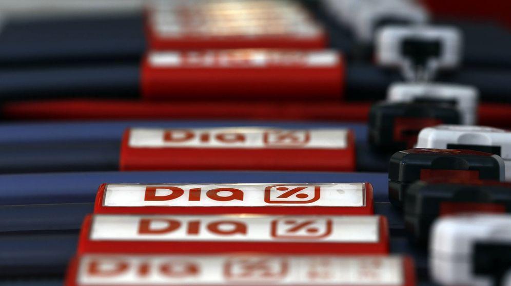Foto: Carros de compra de DIA. (Reuters)