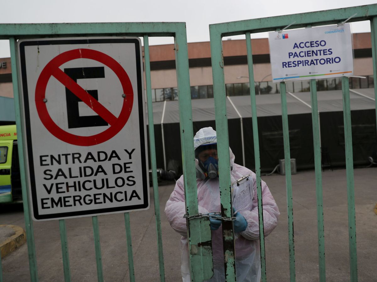 Foto: Hospital en Sanitago (Reuters)