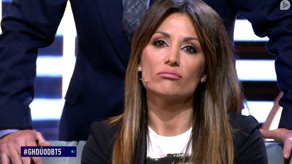 Foto: Nagore Robles en el debate de 'GH Dúo'. (Mediaset España)