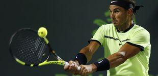 Post de Nadal supera con solvencia a Sock y alcanza las semifinales de Miami